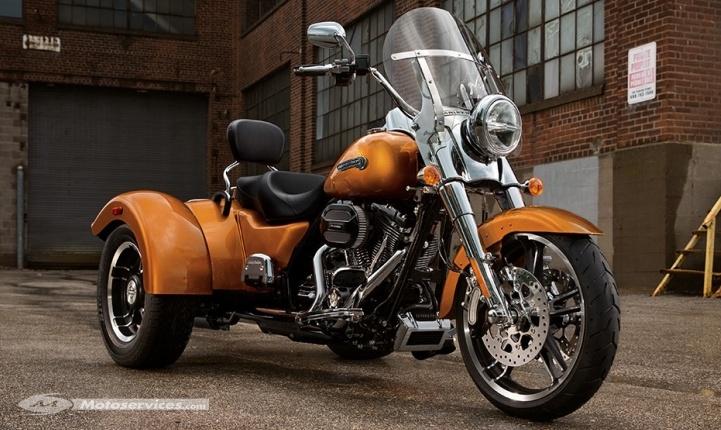 Harley-Davidson : nouveau trike Freewheeler Captur13