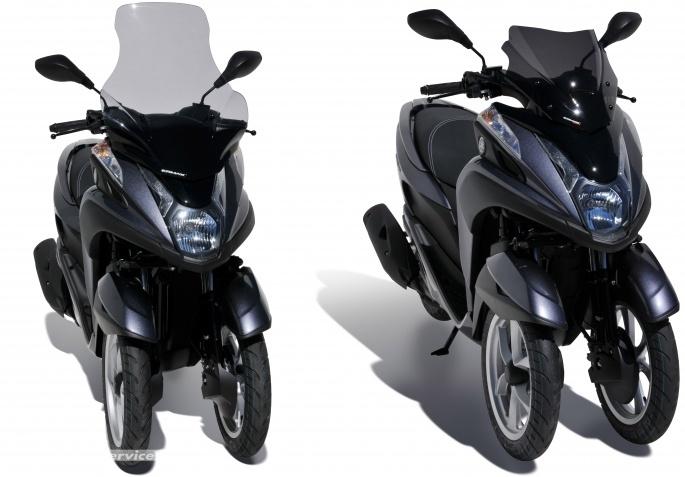 Ermax équipe déjà le Yamaha Tricity  Captur17