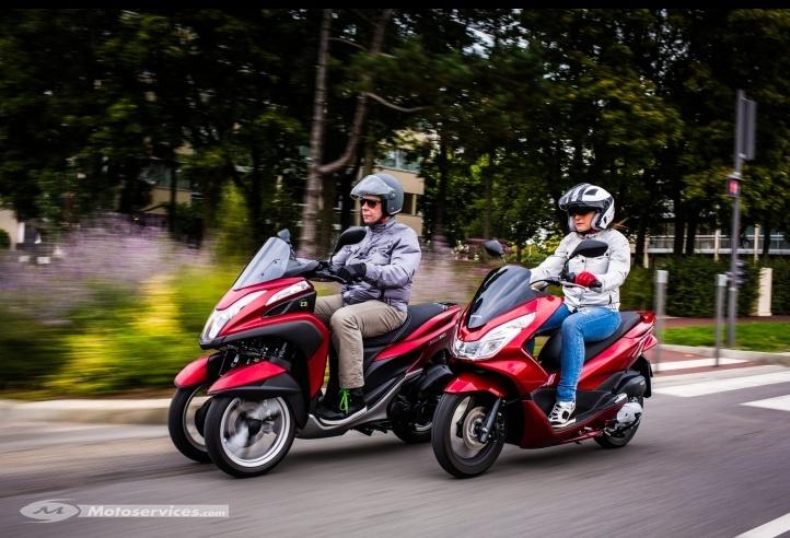 Comparatif Yamaha Tricity 125 vs Honda PCX 125 2014 Captur19