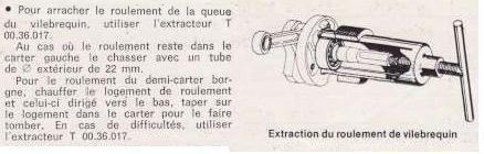 Rare Ancien materiel de concession: Extracteur de roulements Roulem10