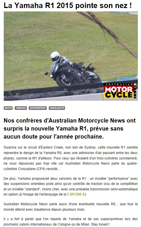 Yamaha R1 et R1M  Crossplane 2015 - Page 3 R1_20112