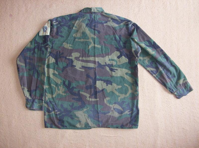 Bosnian woodland camouflage jacket & shirt 100_1111