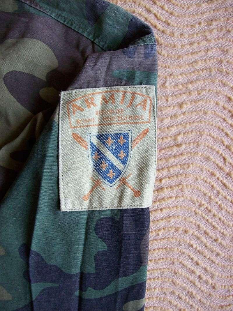 Bosnian woodland camouflage jacket & shirt 100_1112