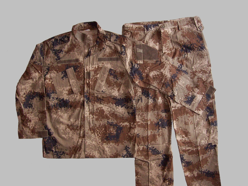 Iraqi Special Operations Forces Camo Uniforms 100_2210