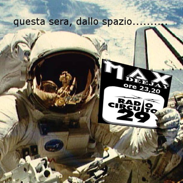 MaX TESTA DEEJAY ON RADIO CIRCUITO 29: questa sera, ore 23,20 Astron10