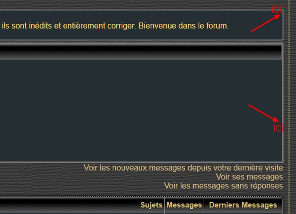 *RESOLU*[PhpBB2] Aide mise en forme page d'accueil merci Ici_et10