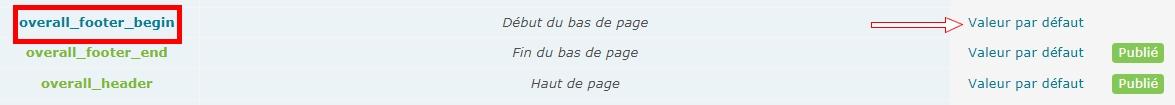 *RESOLU* Modifier le pied de page de mon forum Liente10