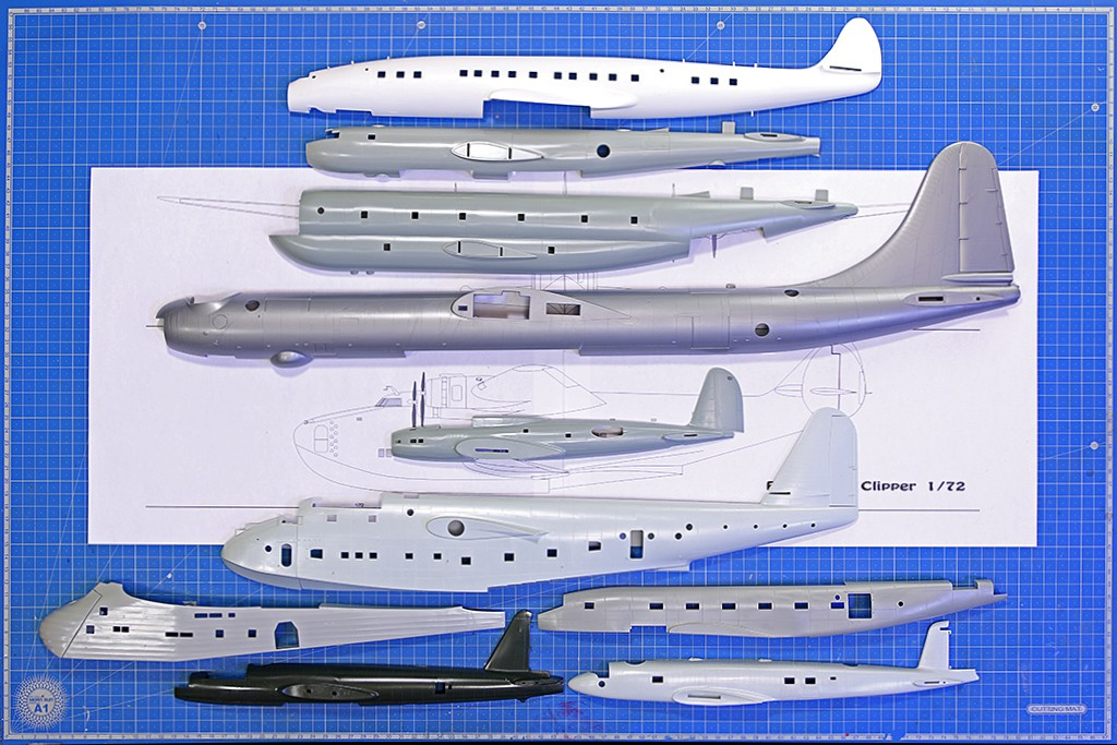 "Boeing 314 ""Dixie Clipper"" 1939-1950 (/1/144 Minicraft) Img_9825"