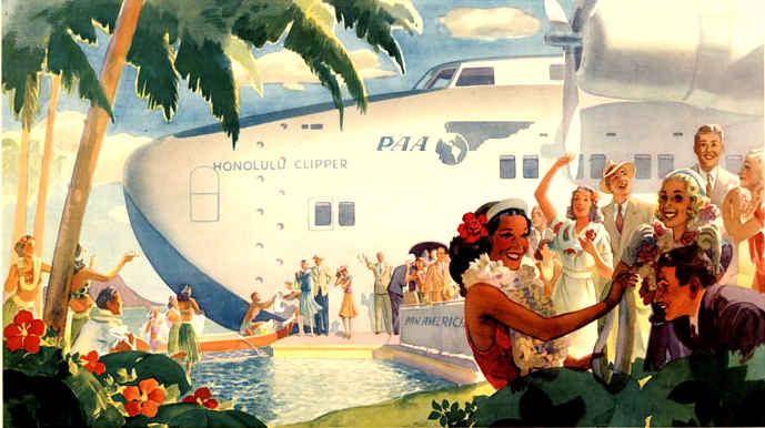 "Boeing 314 - Boeing 314 ""Honolulu Clipper"" Panam10"