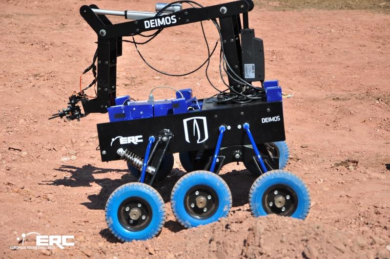 Concours européen de robots martiens Erc20110