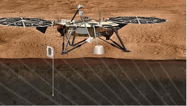 Préparation de la mission martienne InSight Insigh10