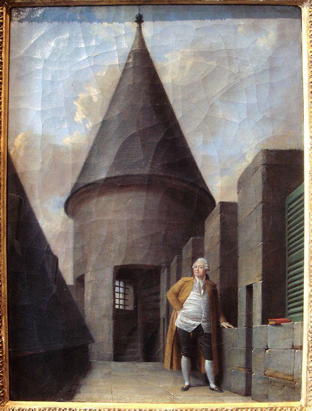 Plans et aménagements du donjon du Temple : la grande tour, la petite tour 640px-11