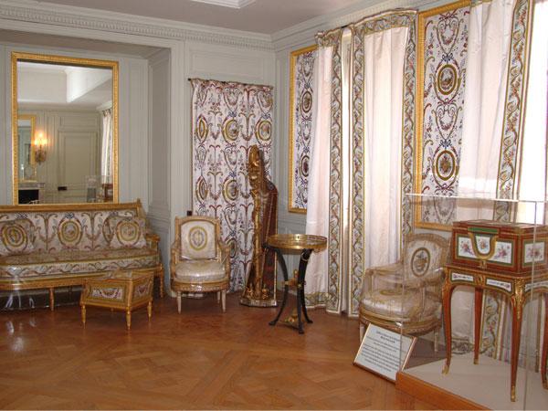 Le cabinet du Billard de Marie-Antoinette au deuxième étage D7e7c812