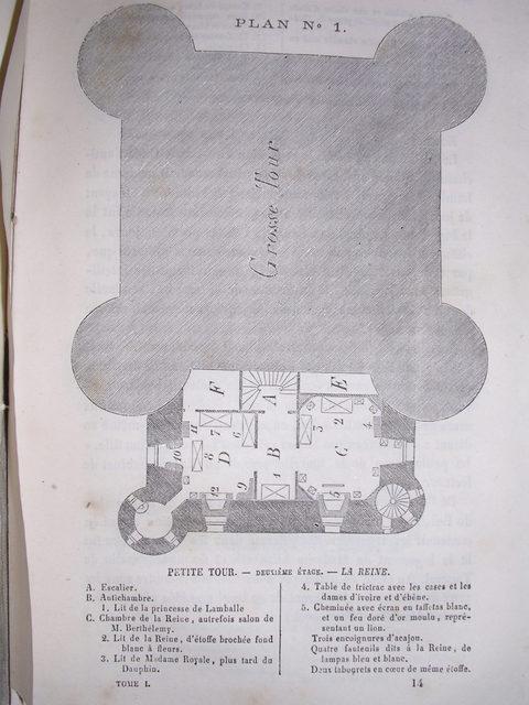 Plans et aménagements du donjon du Temple : la grande tour, la petite tour Dscn0710