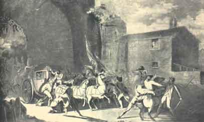 La fuite vers Montmédy et l'arrestation à Varennes, les 20 et 21 juin 1791 - Page 4 L_arre10