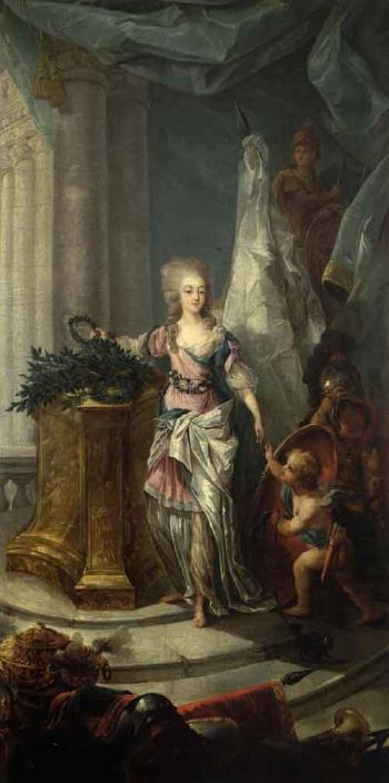 Portraits de Marie-Antoinette attribués aux Gautier Dagoty (ou d'après). - Page 2 Ma03510