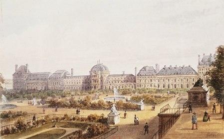 Le palais des Tuileries - Page 2 Palais11
