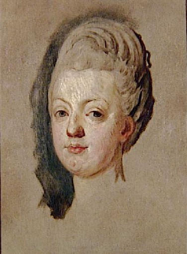Portraits de Marie-Antoinette par Joseph-Siffred Duplessis Portra10
