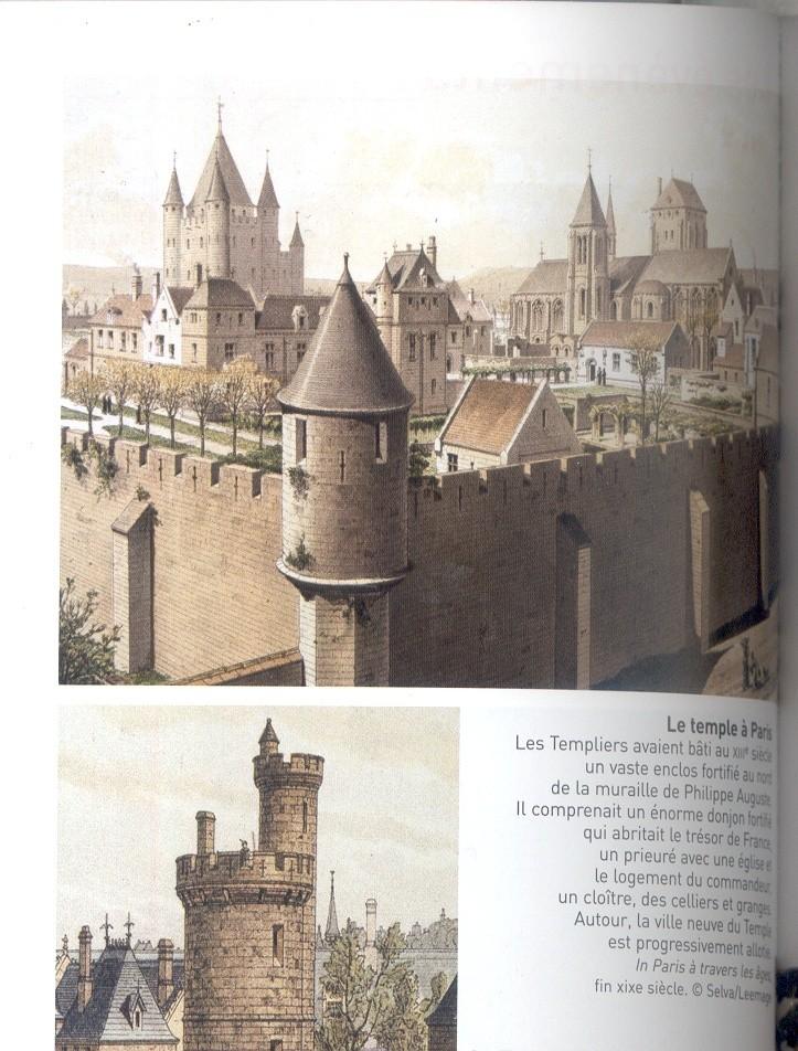 Plans et aménagements du donjon du Temple : la grande tour, la petite tour Temple18