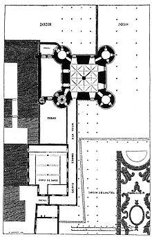 Plans et aménagements du donjon du Temple : la grande tour, la petite tour Tourdu10
