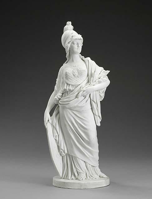 Marie-Antoinette en Minerve, par Josse-François-Joseph Le Riche  Tumblr10