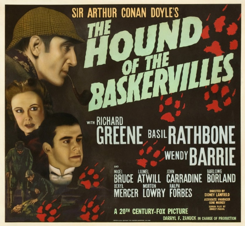Sherlock Holmes (version 39-46 avec Basil Rathbone) Hb24510