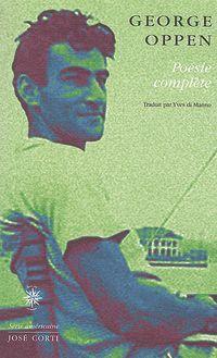George Oppen [Etats-Unis]  Poesie10