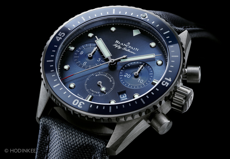 The Blancpain Ocean Commitment Bathyscaphe Chronograph Flyback Tylych10