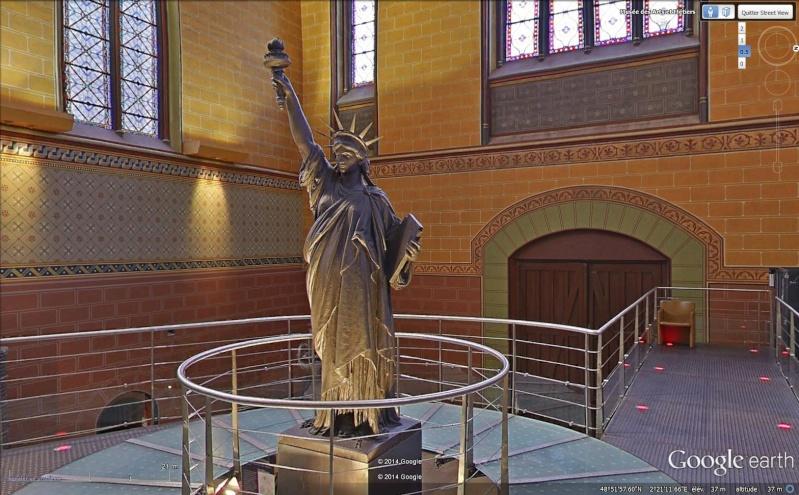 Statue de la Liberté = les répliques découvertes grâce à Google Earth - Page 5 Sans_205