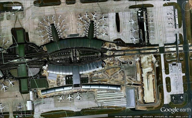 Terminal 2 effondré, Roissy Charles de Gaulle, Paris - France Sans_413