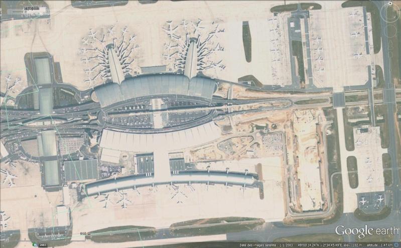 Terminal 2 effondré, Roissy Charles de Gaulle, Paris - France Sans_414
