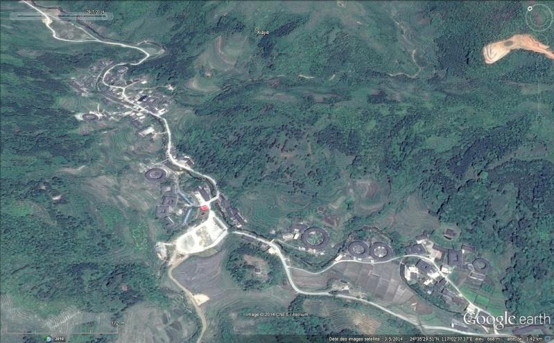 """Les """"Tulou"""", habitations traditionnelles des Hakkas du Fujian - Chine Sans_494"""