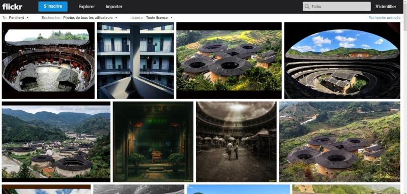 """Les """"Tulou"""", habitations traditionnelles des Hakkas du Fujian - Chine Sans_497"""