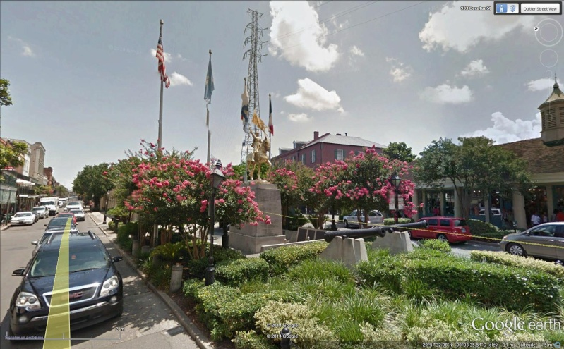 STREET VIEW : Joan Of Arc, New Orleans - USA Sans_542