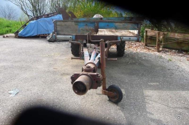 Mon MC7 Diesel et sa remorque motrice 1419