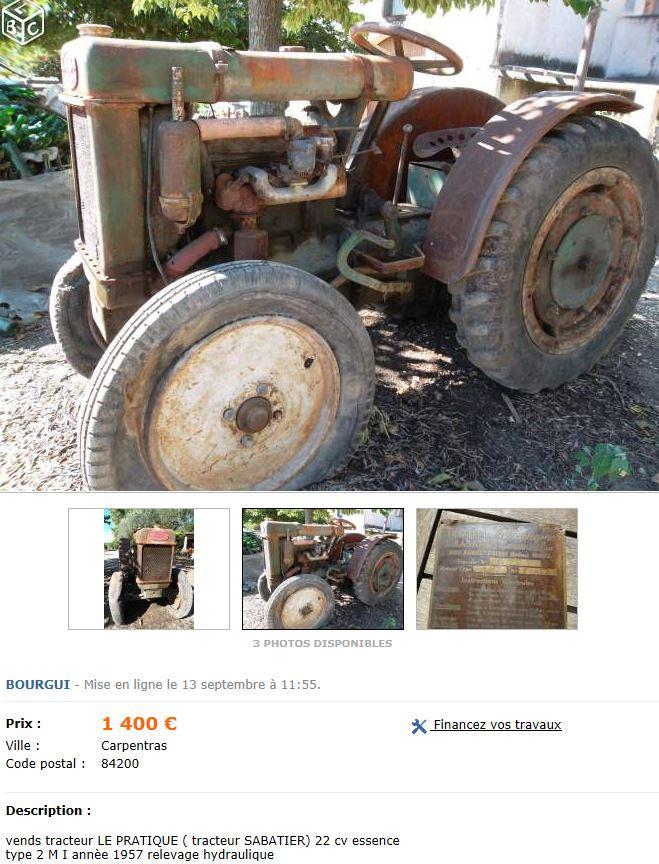 tracteur le pratique sabatier Capt1541