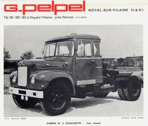 Brochure autopompes d'incendie Guinard sur Citroen U23 Capt1795