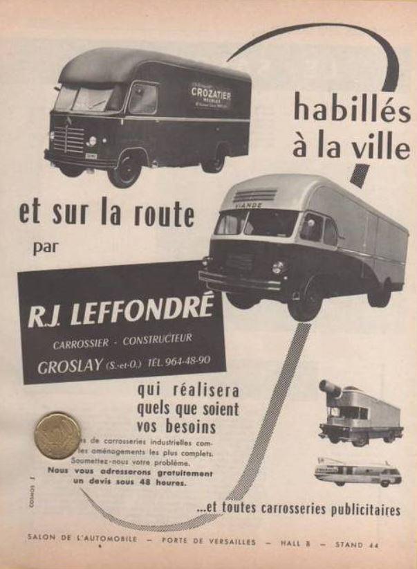 La Carrosserie LEFFONDRE Capt1897