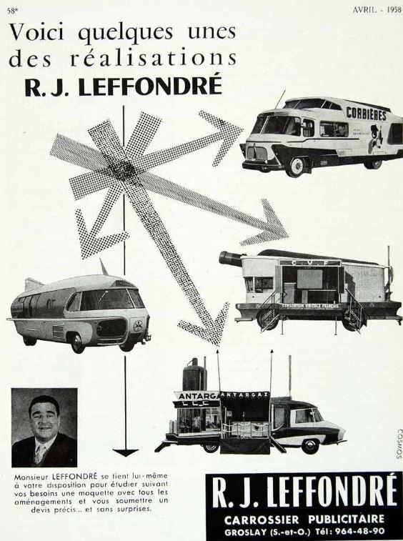 La Carrosserie LEFFONDRE Capt1945
