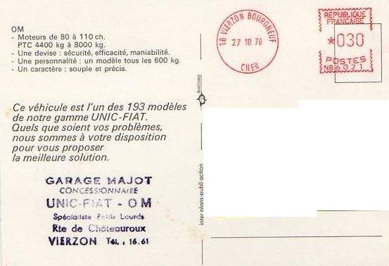 Pub et catalogues UNIC - IVECO Captu314