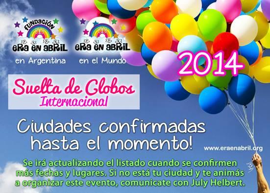 EVENTOS PROGRAMADOS EN EL MUNDO: VI Suelta de Globos Internacional 2014 15459511