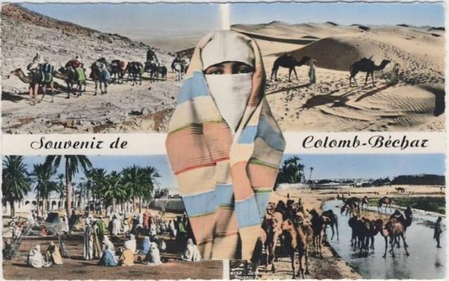 Cartes postales de Béchar 5-souv10