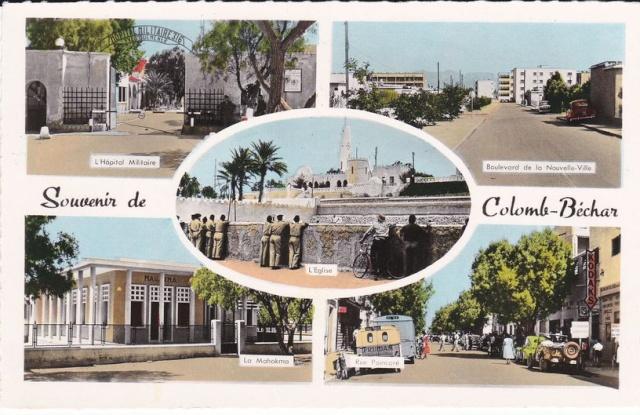 Cartes postales de Béchar 6-souv10