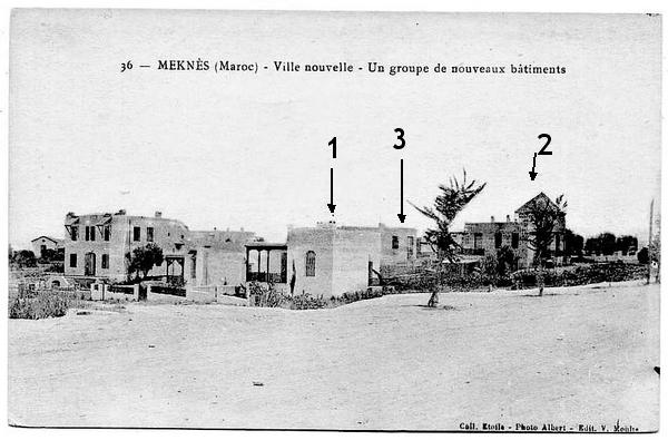 Meknès, la ville Nouvelle 4 De_19111