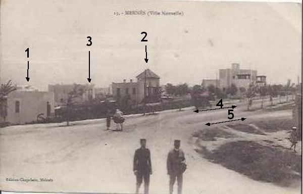 Meknès, la ville Nouvelle 4 De_19112