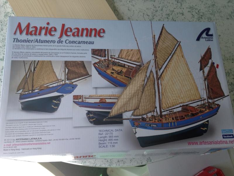 Marie-Jeanne de Concarneau, Thonier au 1/50, maquette en bois Image20