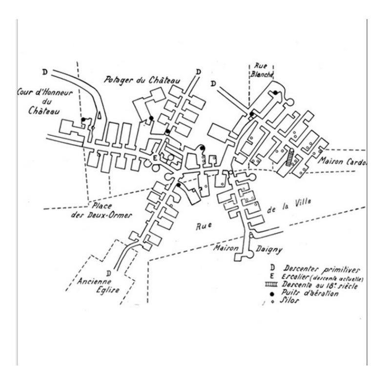Les sous terrains  refuges de Le Quesnel (souterrains) Sans_t18