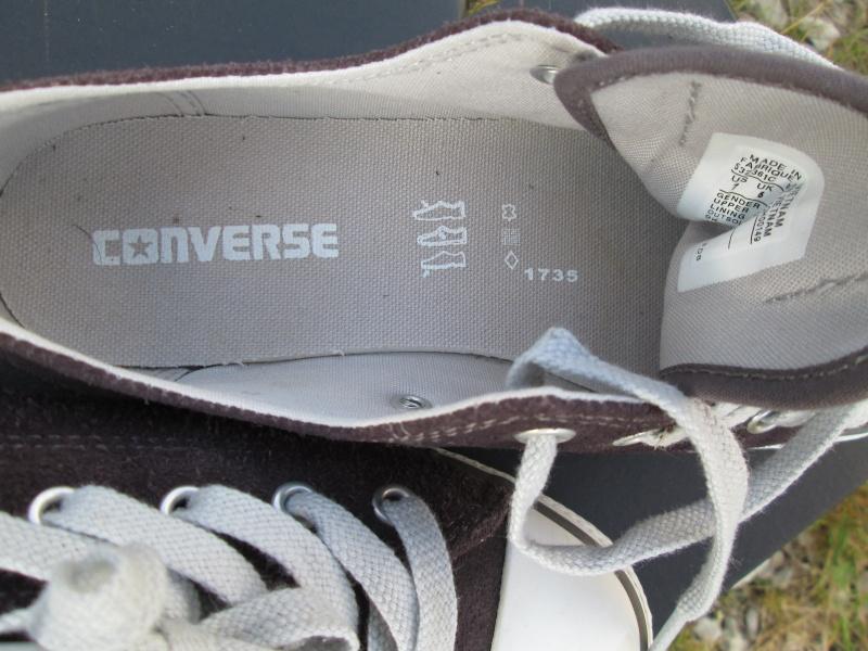 Vends 2 paires de Converse Neuves en Nubuck Img_2119