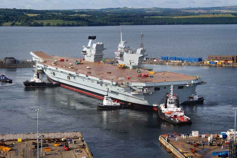 Aircraft Carrier (HMS Queen Elizabeth & HMS Prince of Wales) - Page 2 10497211