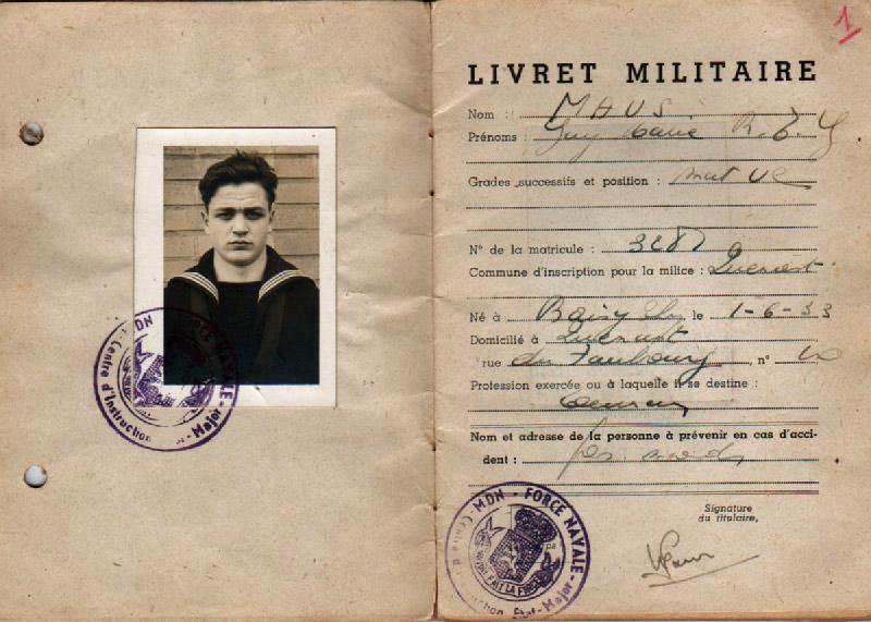 le Livret Militaire Livret12